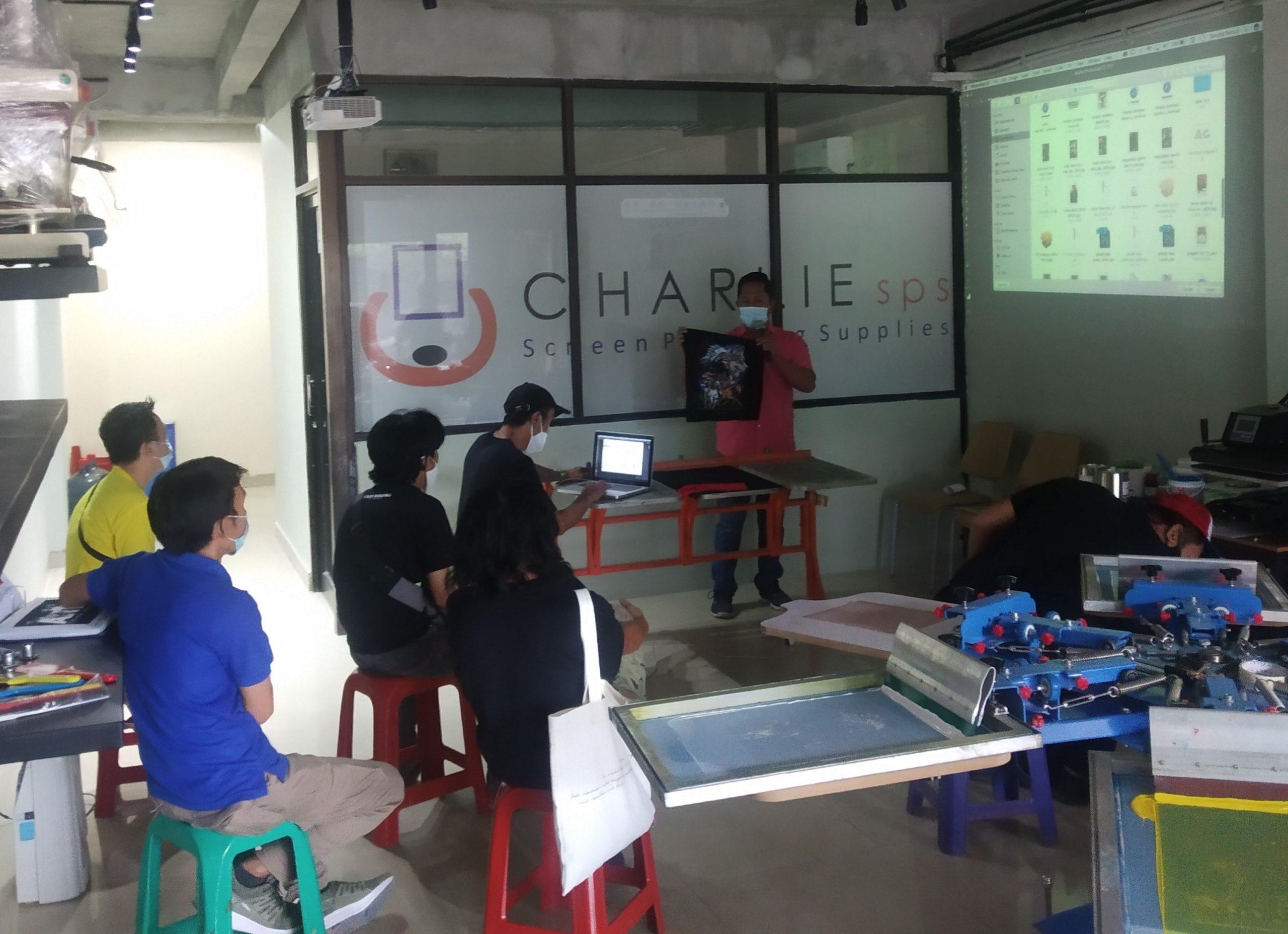 Kursus Sablon Gratis : Sharing Session